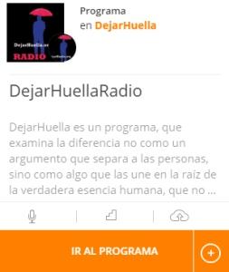 DejarHuellaRadiopod